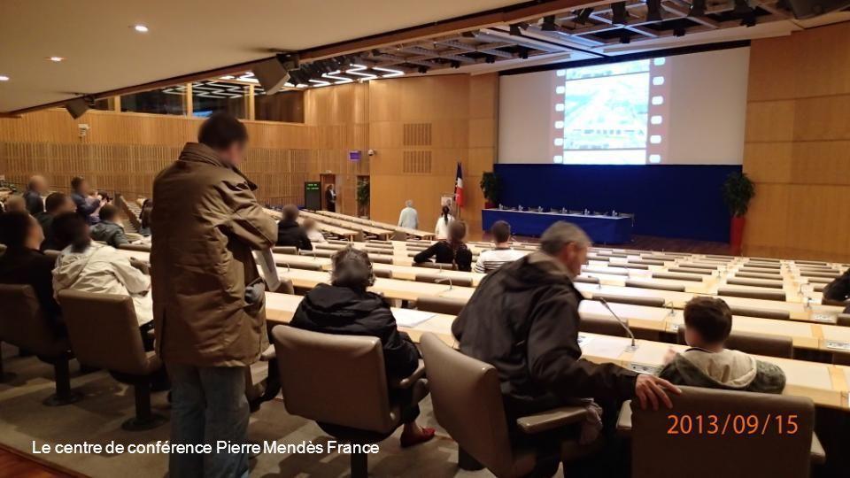 Le centre de conférence Pierre Mendès France