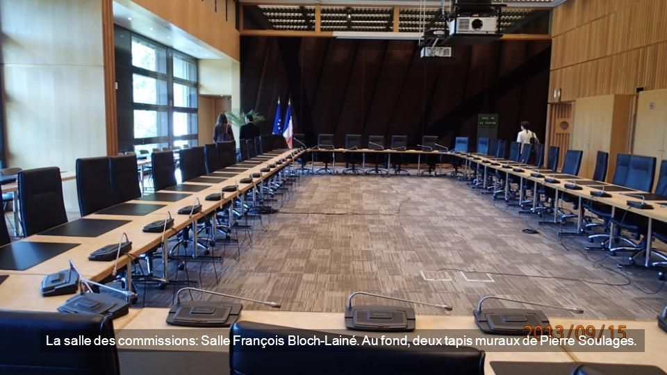 La salle des commissions: Salle François Bloch-Lainé