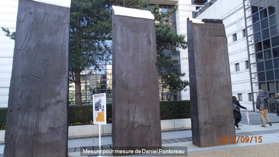 Mesure pour mesure de Daniel Pontoreau