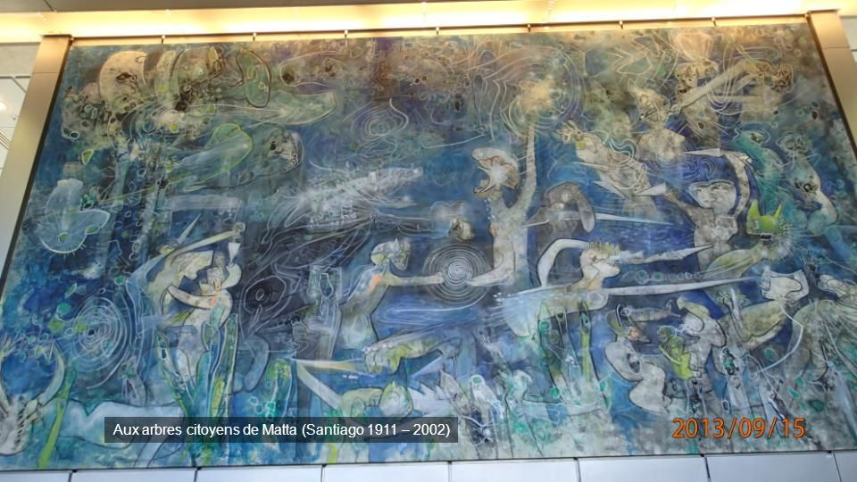 Aux arbres citoyens de Matta (Santiago 1911 – 2002)