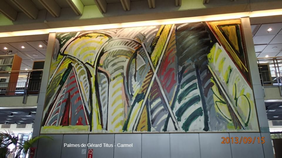 Palmes de Gérard Titus - Carmel