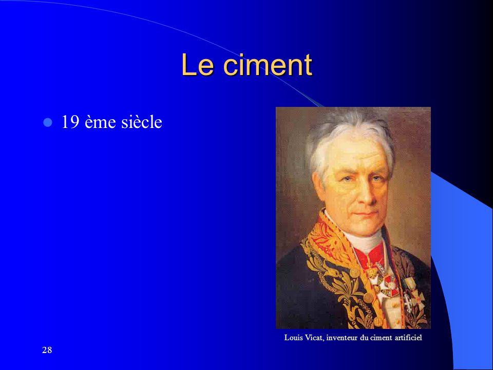 Louis Vicat, inventeur du ciment artificiel