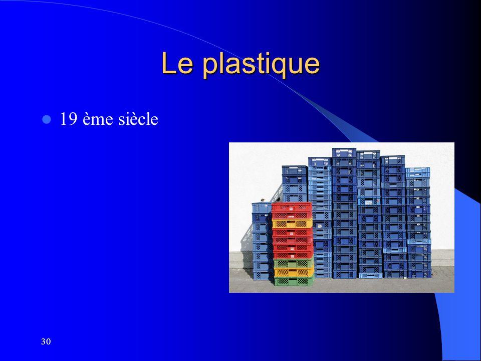 Le plastique 19 ème siècle 30