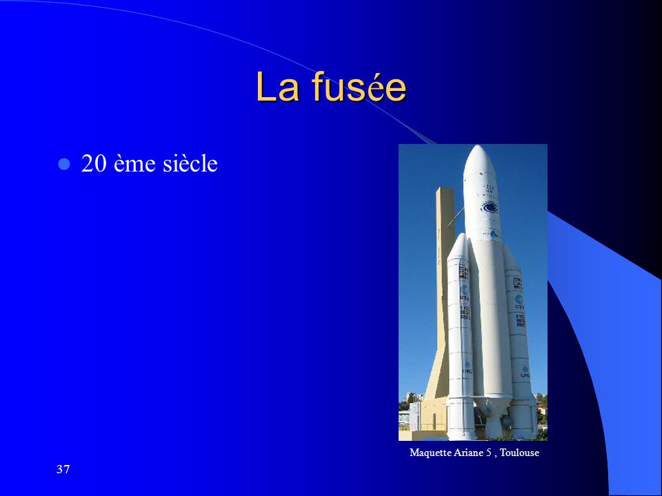 Maquette Ariane 5 , Toulouse