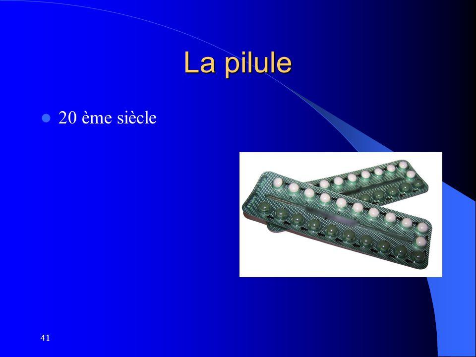 La pilule 20 ème siècle 41