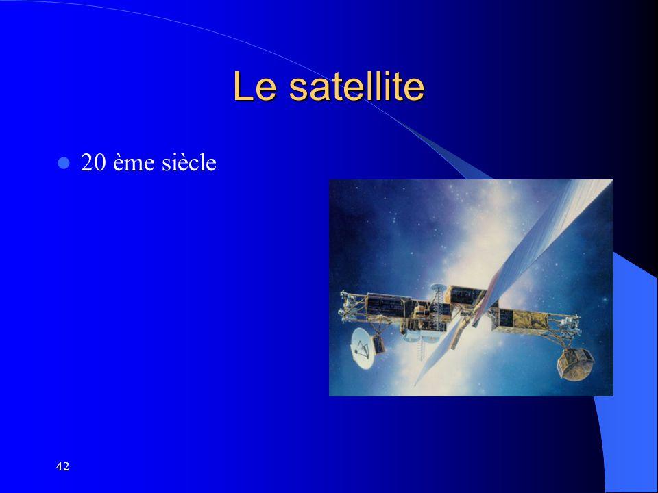 Le satellite 20 ème siècle 42