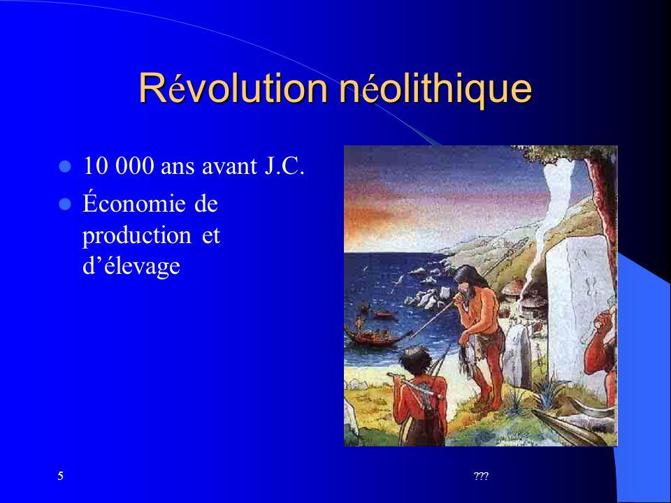 Révolution néolithique