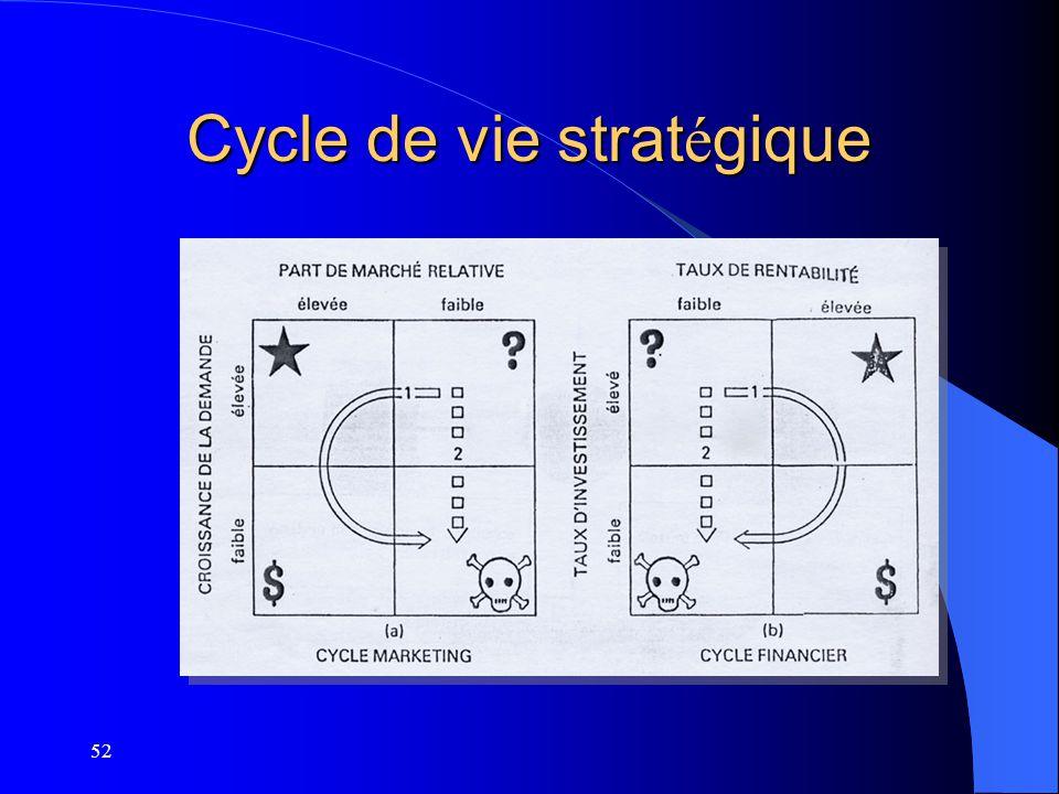 Cycle de vie stratégique