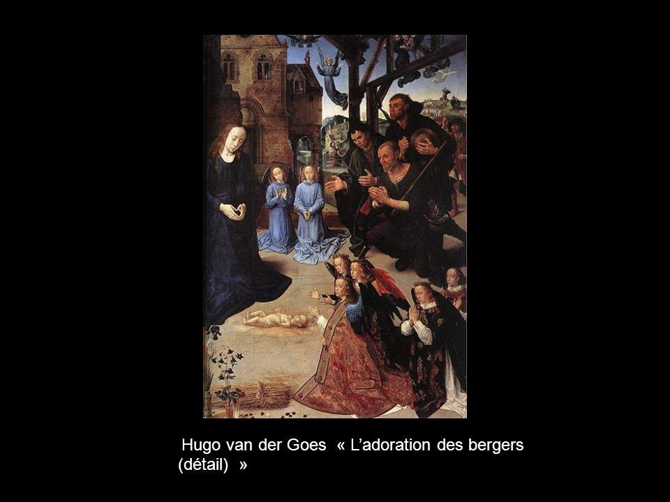 Hugo van der Goes « L'adoration des bergers (détail) »
