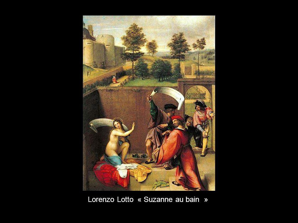 Lorenzo Lotto « Suzanne au bain »
