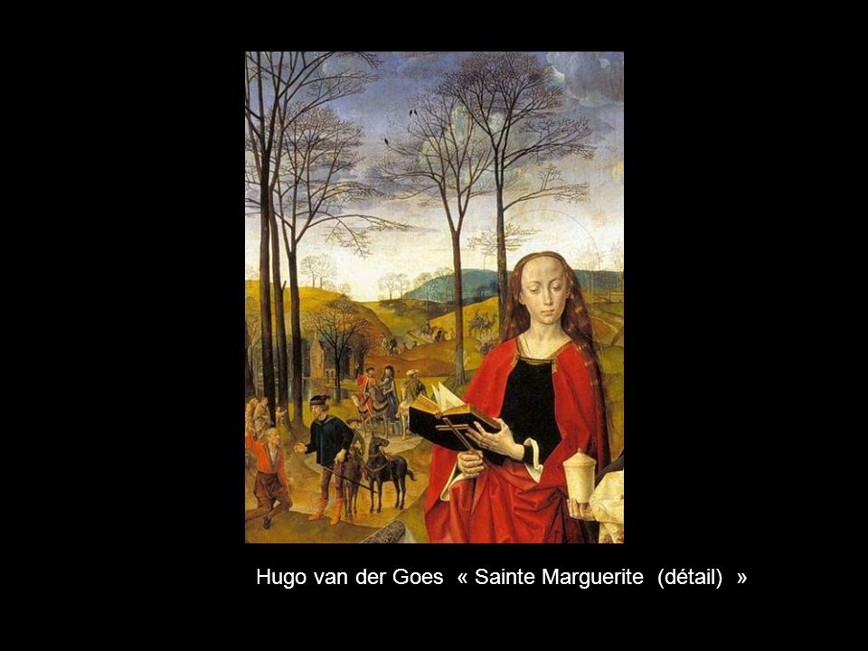 Hugo van der Goes « Sainte Marguerite (détail) »