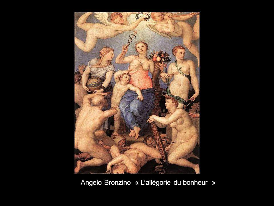 Angelo Bronzino « L'allégorie du bonheur »
