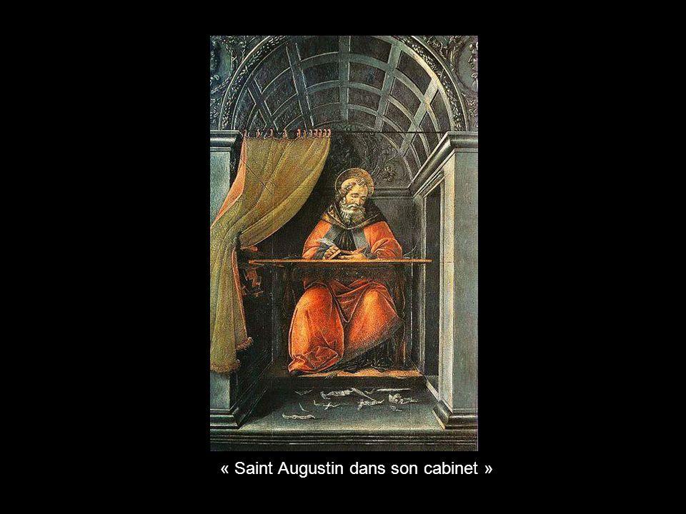 « Saint Augustin dans son cabinet »