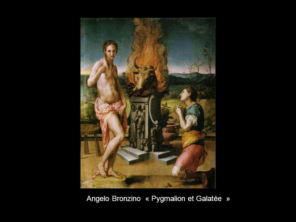 Angelo Bronzino « Pygmalion et Galatée »