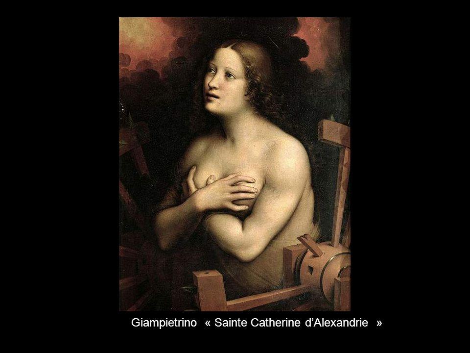 Giampietrino « Sainte Catherine d'Alexandrie »