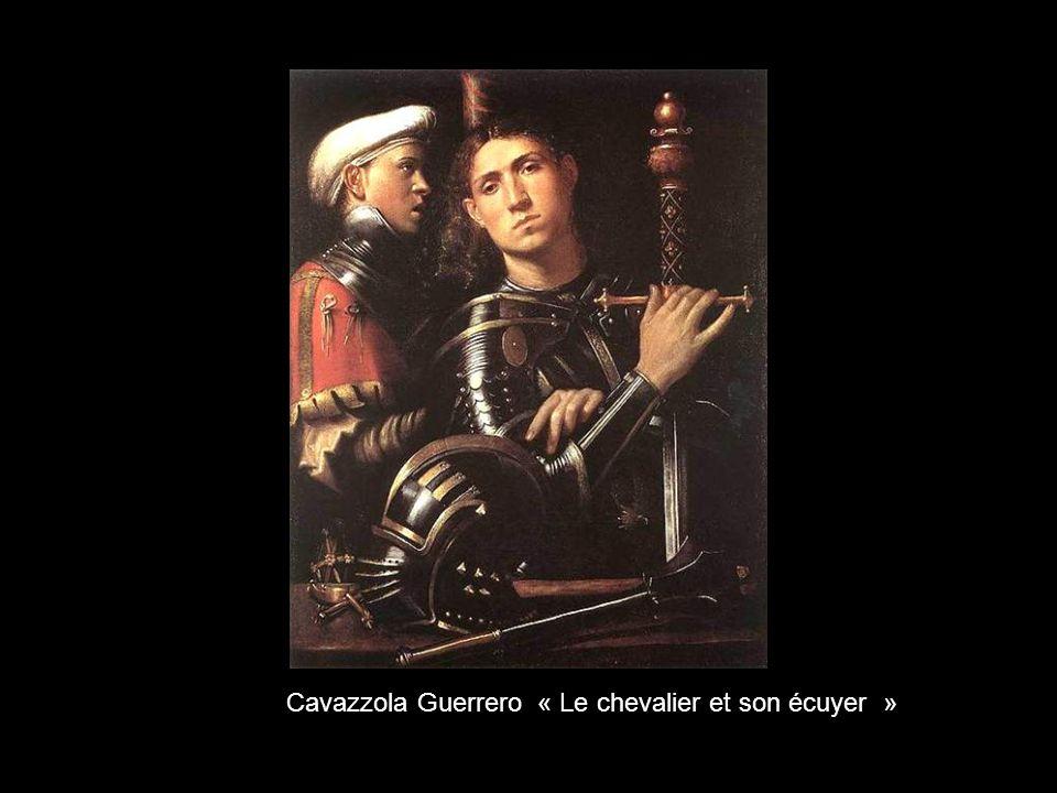 Cavazzola Guerrero « Le chevalier et son écuyer »