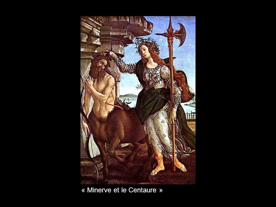 « Minerve et le Centaure »