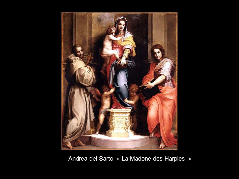 Andrea del Sarto « La Madone des Harpies »