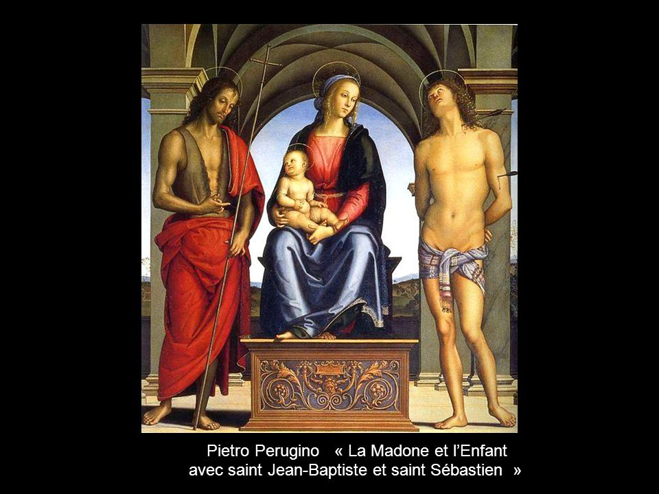 Pietro Perugino « La Madone et l'Enfant