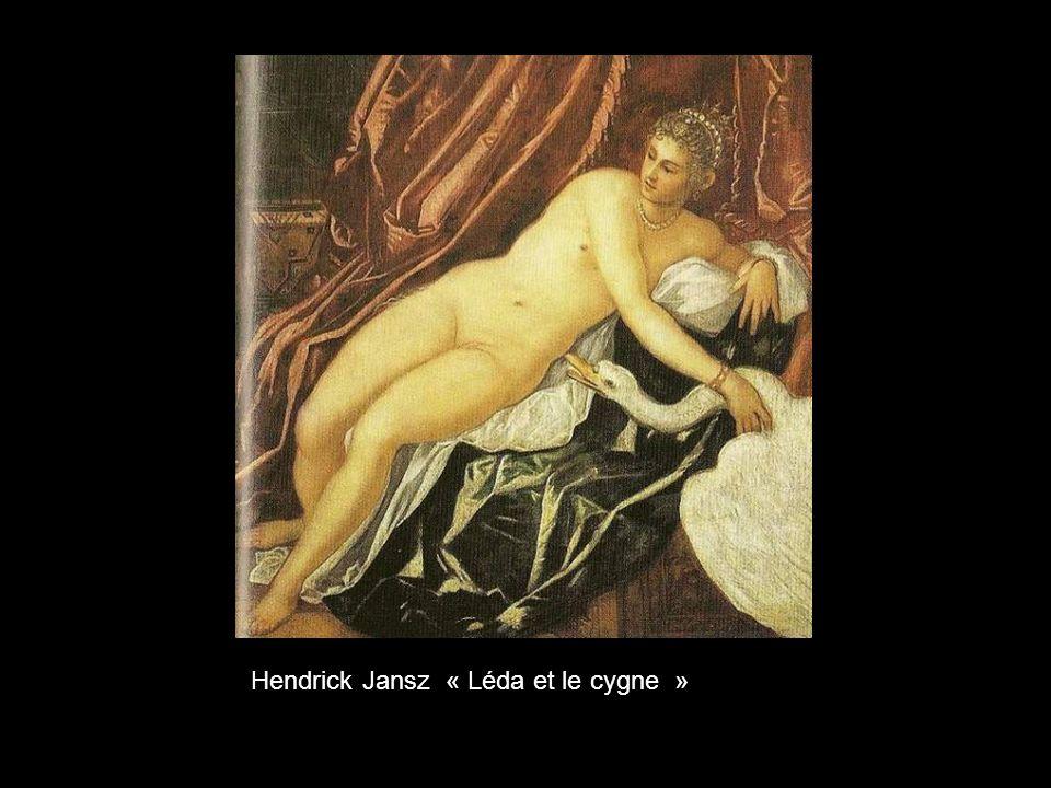 Hendrick Jansz « Léda et le cygne »