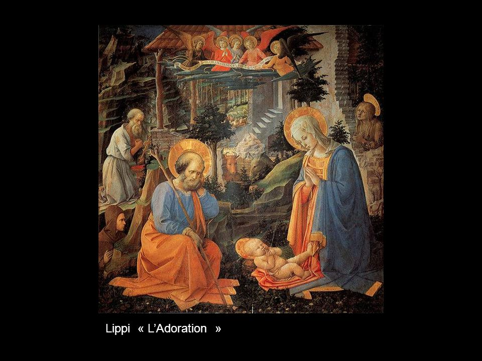 Lippi « L'Adoration »