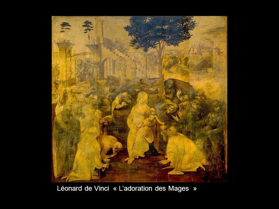 Léonard de Vinci « L'adoration des Mages »