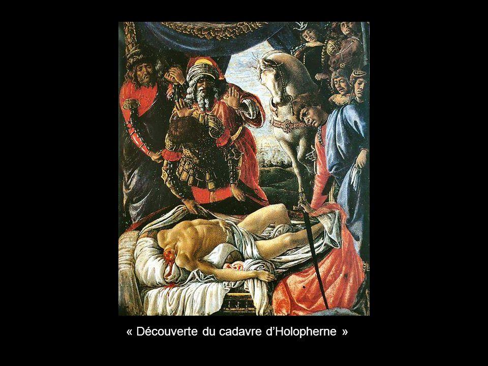« Découverte du cadavre d'Holopherne »