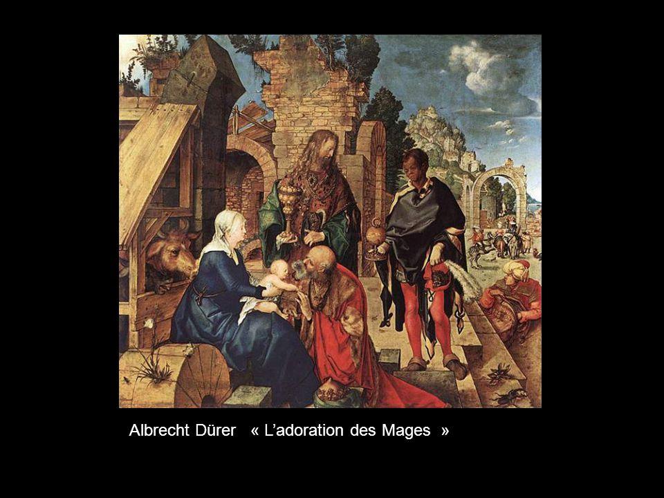 Albrecht Dürer « L'adoration des Mages »