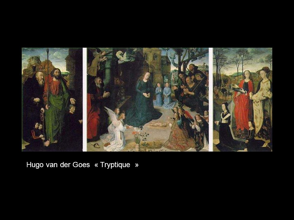Hugo van der Goes « Tryptique »