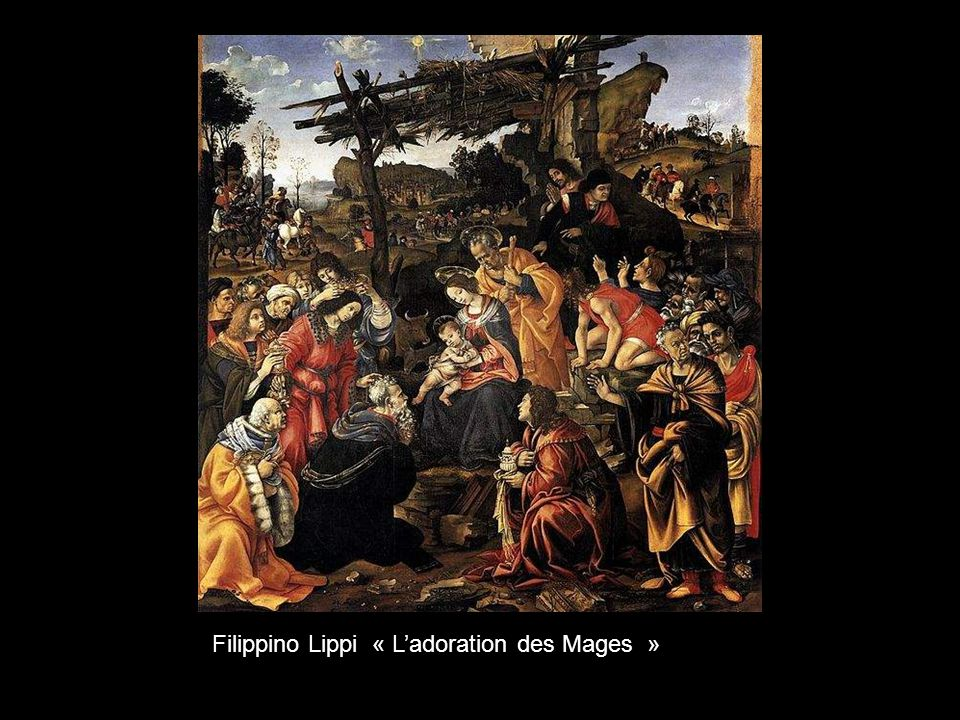 Filippino Lippi « L'adoration des Mages »
