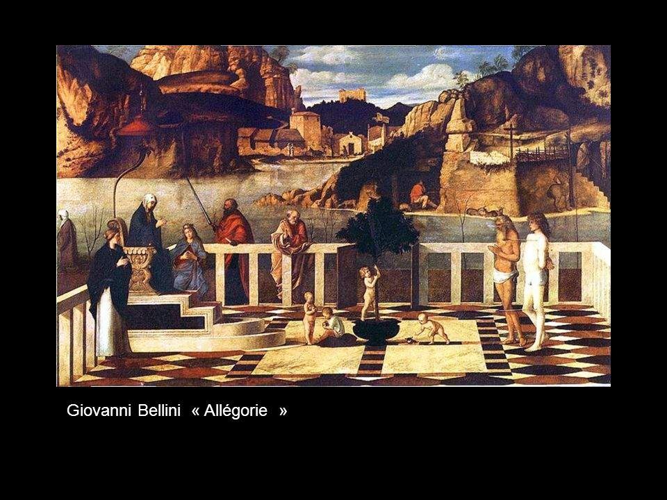 Giovanni Bellini « Allégorie »