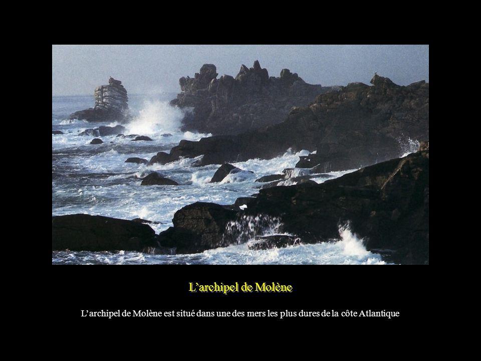 L'archipel de Molène L'archipel de Molène est situé dans une des mers les plus dures de la côte Atlantique.