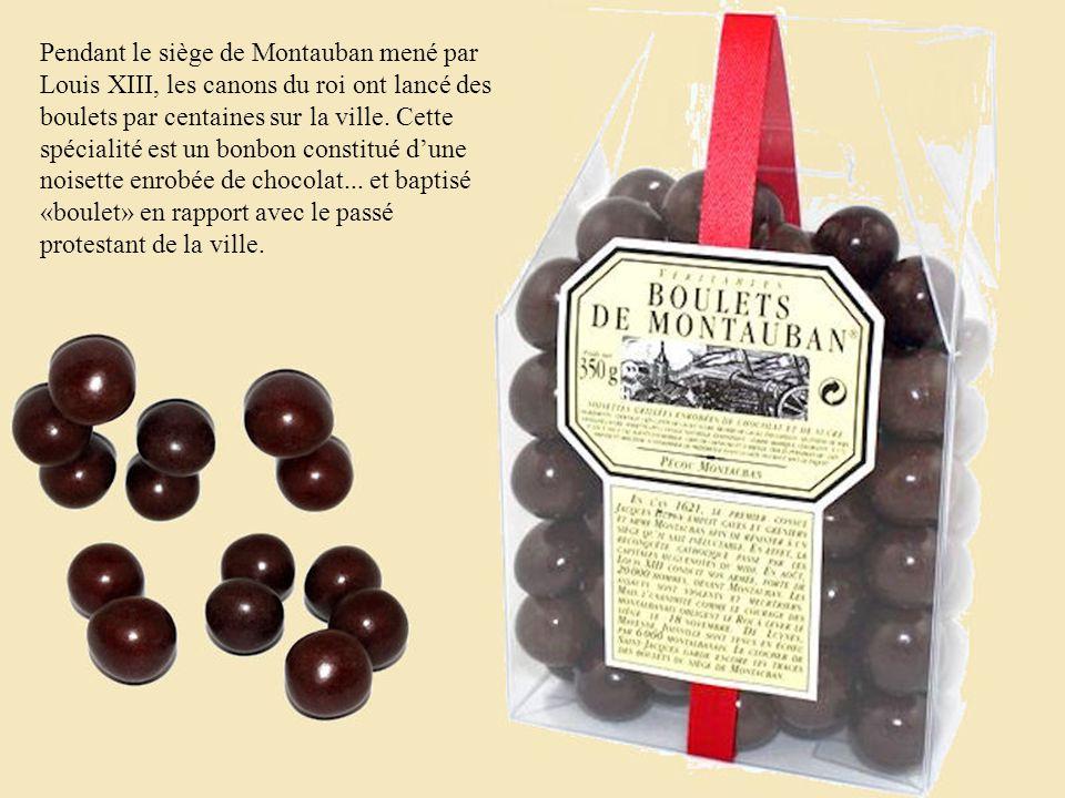 Pendant le siège de Montauban mené par Louis XIII, les canons du roi ont lancé des boulets par centaines sur la ville.
