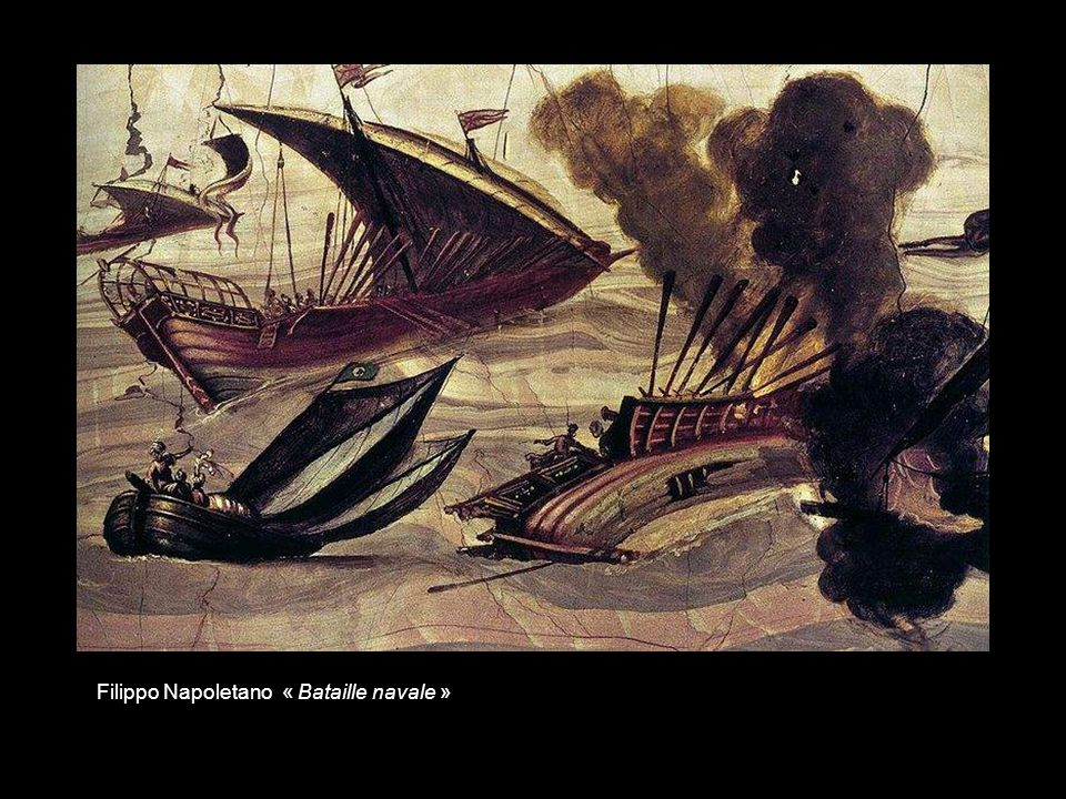 Filippo Napoletano « Bataille navale »