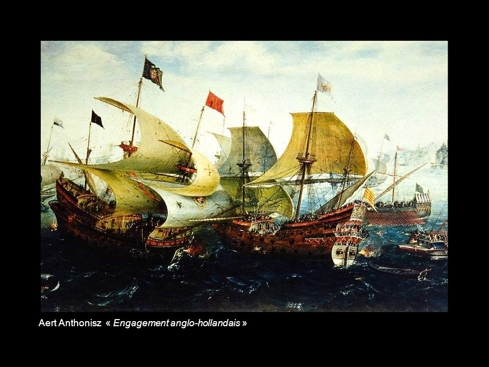 Aert Anthonisz « Engagement anglo-hollandais »