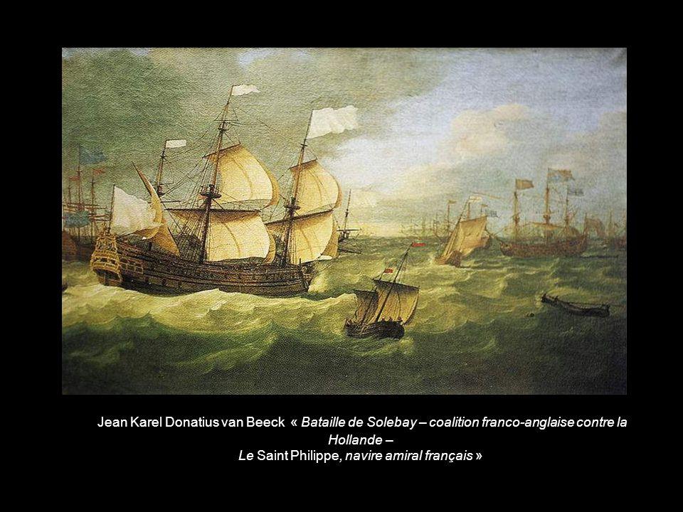 Le Saint Philippe, navire amiral français »