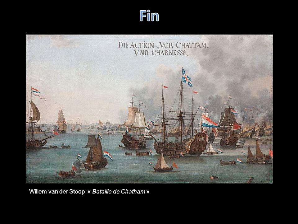 Willem van der Stoop « Bataille de Chatham »