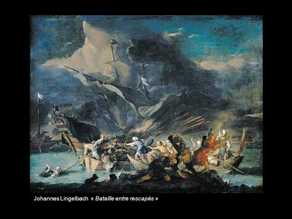 Johannes Lingelbach « Bataille entre rescapés »