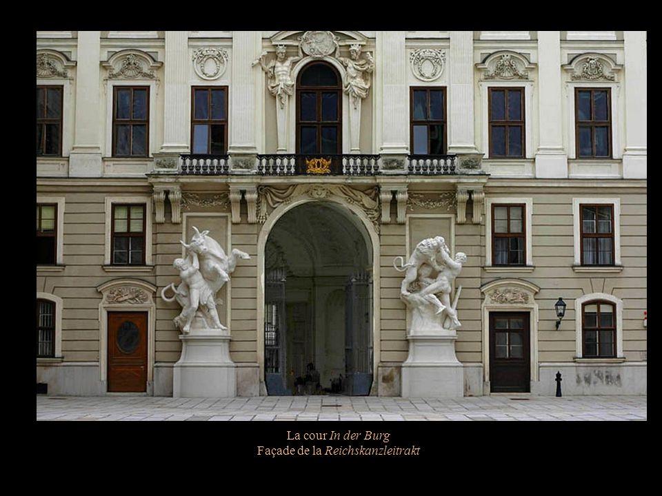 Façade de la Reichskanzleitrakt