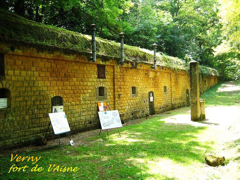 Verny fort de l'Aisne