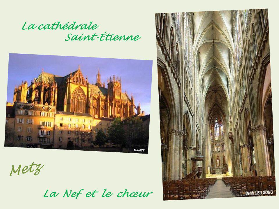 La cathédrale . Saint-Étienne