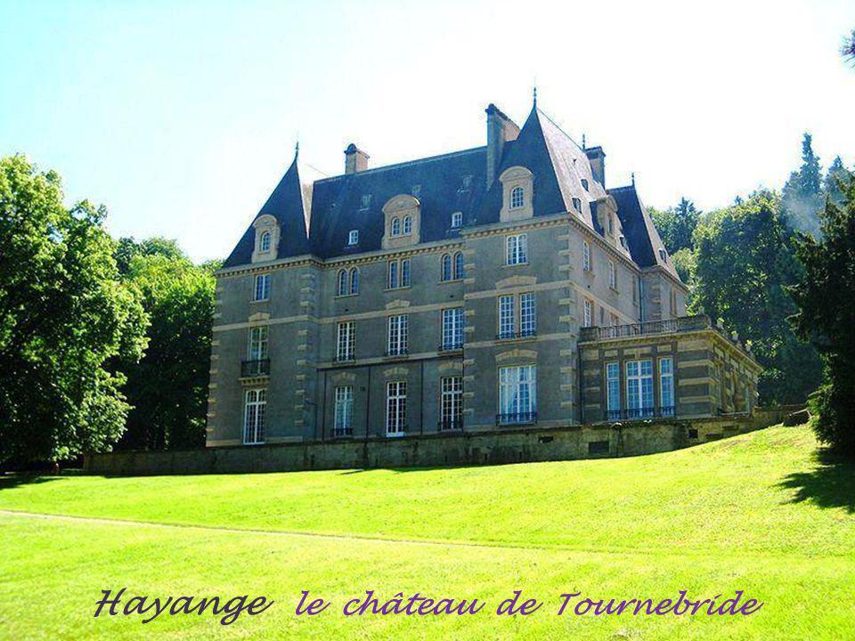 Hayange le château de Tournebride