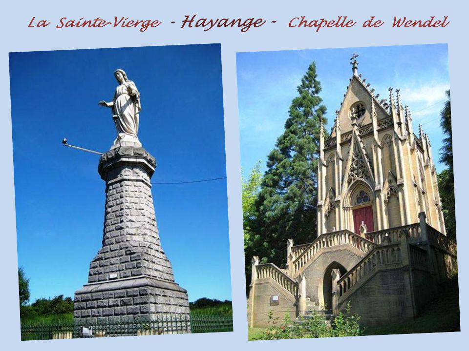 La Sainte-Vierge - Hayange - Chapelle de Wendel