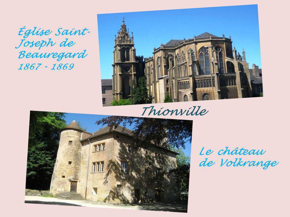 Thionville Église Saint-Joseph de Beauregard 1867 - 1869