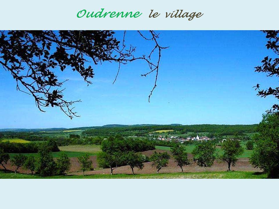 Oudrenne le village