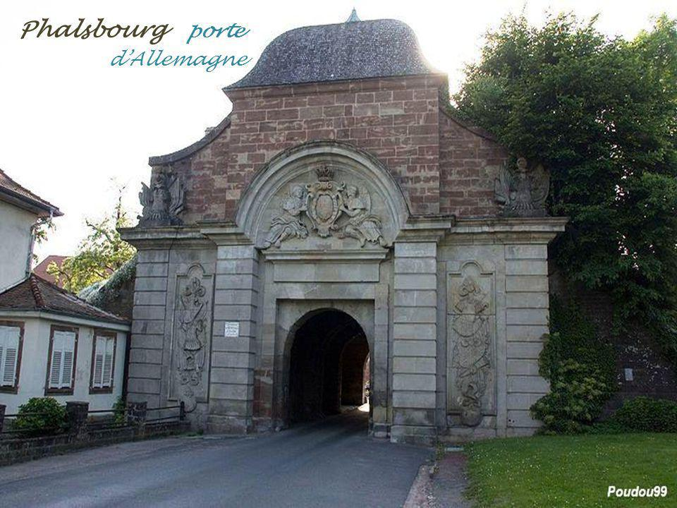 Phalsbourg porte . d'Allemagne
