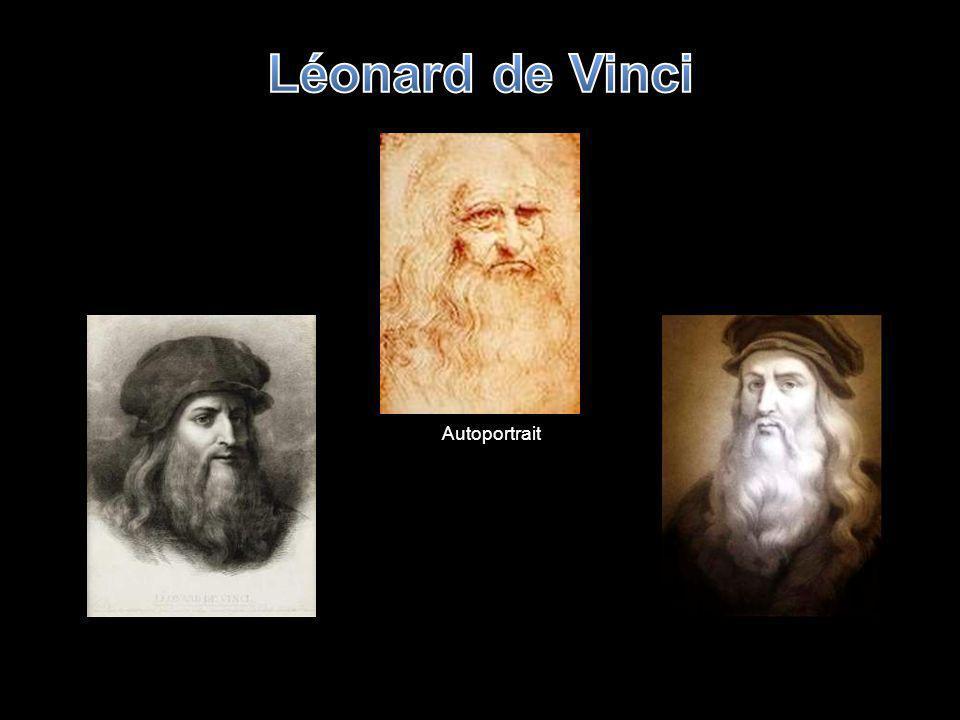 Léonard de Vinci Autoportrait