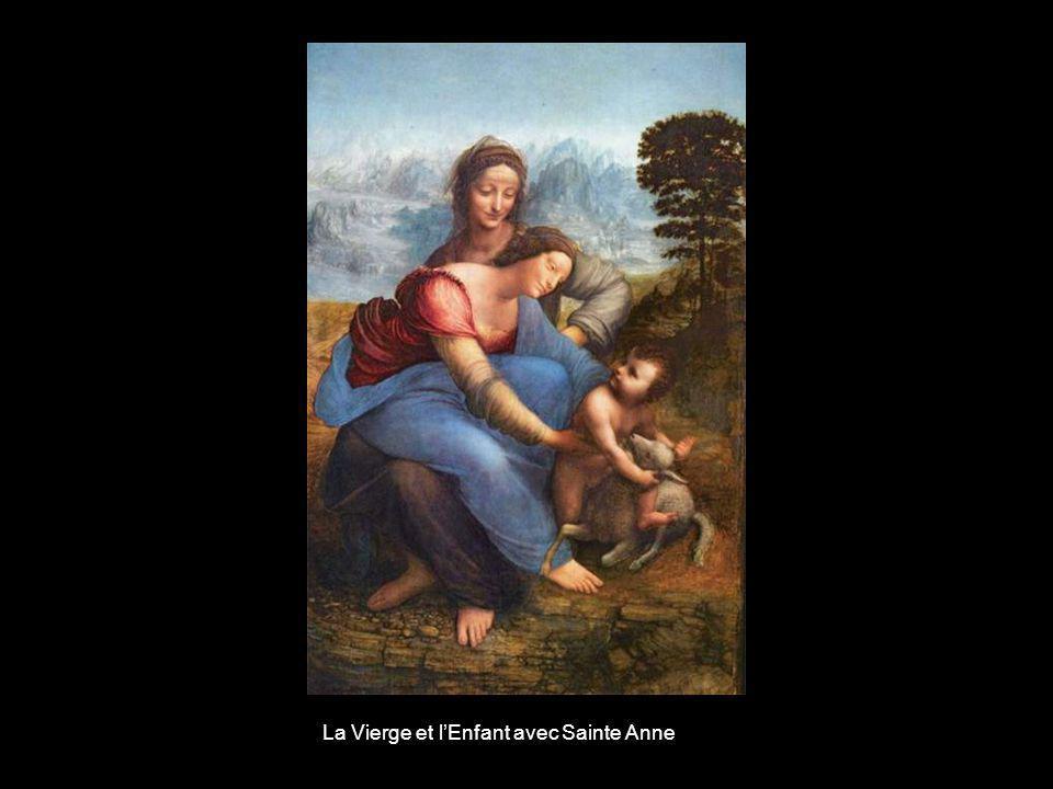 La Vierge et l'Enfant avec Sainte Anne