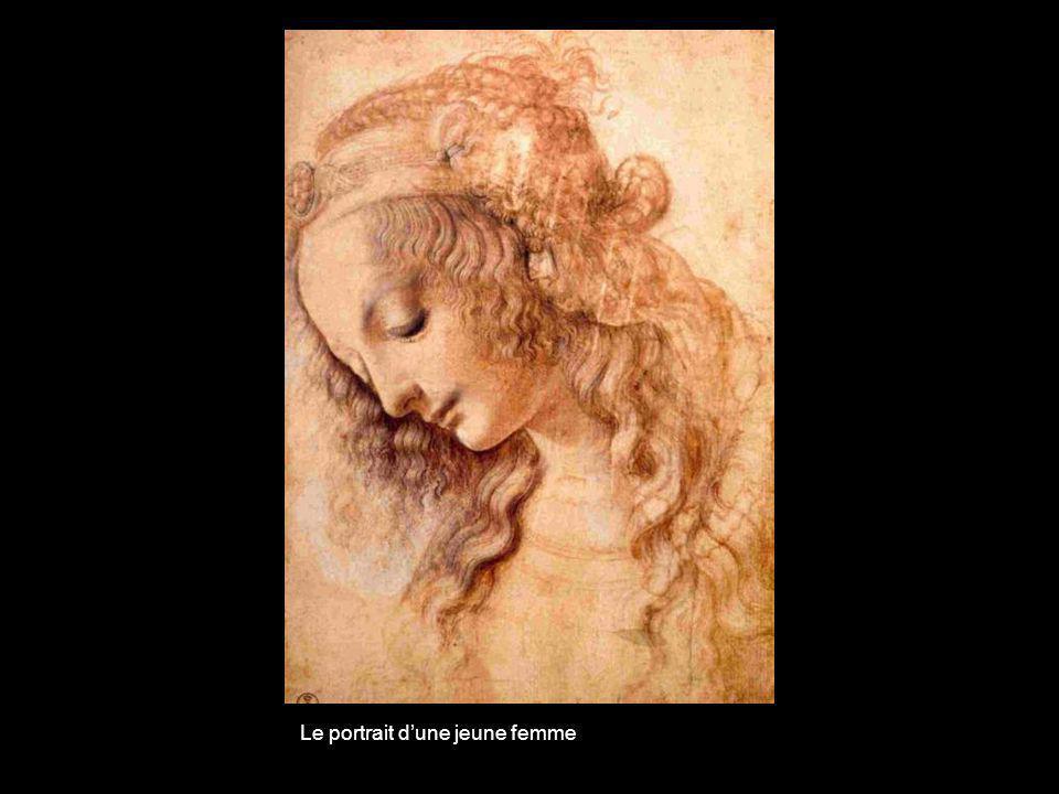 Le portrait d'une jeune femme