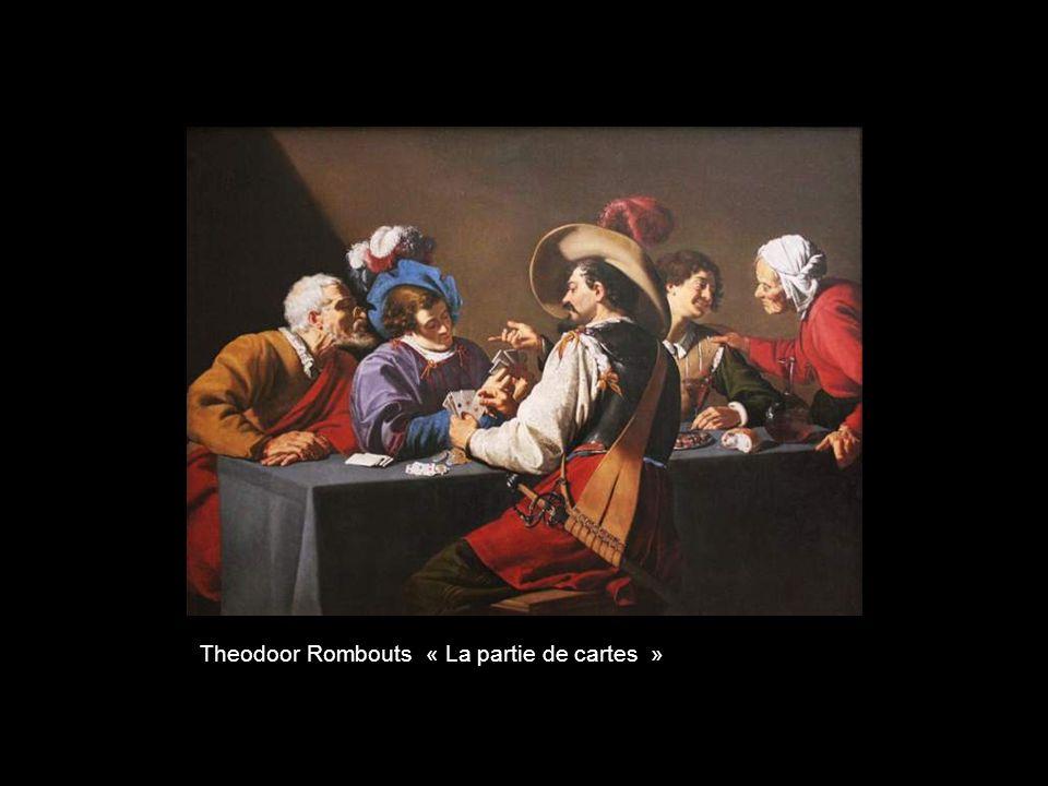 Theodoor Rombouts « La partie de cartes »